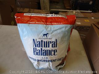 NATURAL BALANCE GRAIN FREE DOG FOOD