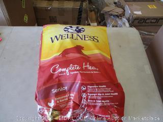 WELLNESS COMPLETE HEALTH SENIOR DOG FOOD