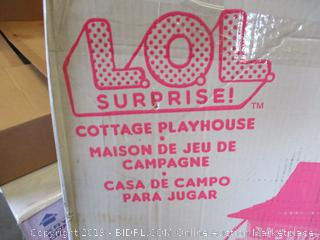 LOL SURPRISE COTTAGE PLAYHOUSE