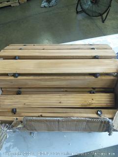 Plow & Hearth 52127 Weather-Resistant Straight Cedar Pathway, 8' (Online $52.99)