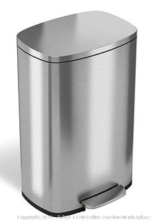 SoftStep - Stainless Step Step Trash Can - 13.2 Gallons (Online $79.99)