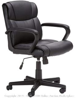 Mid-Back Office Chair - Black