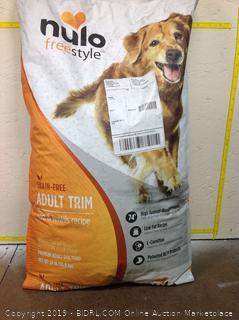 Nulo Freestyle Grain Free Dog Food, hole is bag