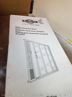 Patio Panel Pet Door Medium (Online $209.95)