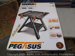 WORX Portable Workable, Clamping System and Sawhorse