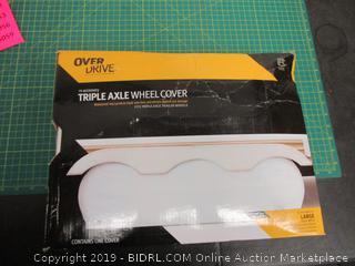Triple Axle Wheel Cover