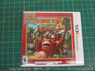 Nintendo 3DS Donkey Kong