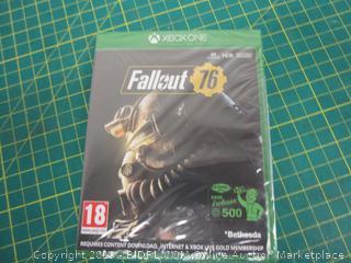 XBOXONE Fallout 76 Sealed