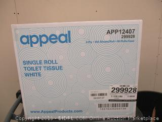 Appeal Single Roll Toilet Tissue