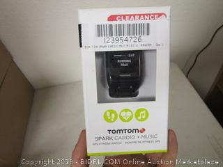 TomTom Spark Cardio + Music GPS Fitness Watch  Sealed