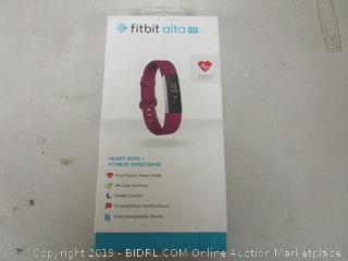 Fitbit alta Heart Rate + Fitness Wristband Still packaged like new