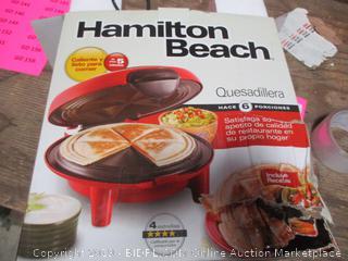 Hamilton Beach Quesadillera