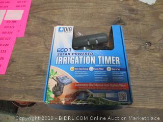 Solar Powered Irrigation Timer