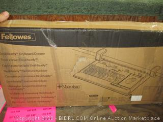 Desk Ready Keyboard Drawer