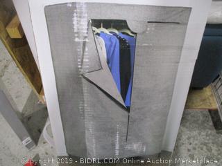 Covered Garment Rack