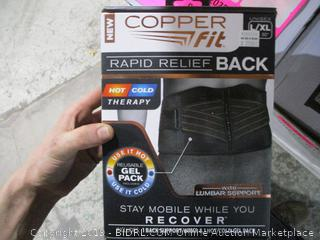 Copper Fit Rapid Back Relief