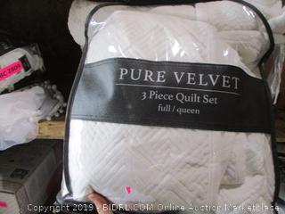 F/Q Quilt bedding