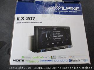 Alpine 7inch Audio/Video Receiver
