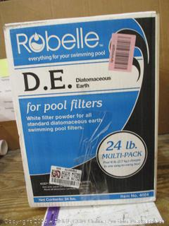 Robelle Diatomaceous Earth for Pool Filters