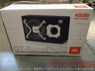 "JBL 12"" Car Audio Powered Subwoofer System"