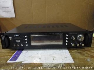 Pyle Hybrid Pre Amplifier W/AM/FM Tuner/USB