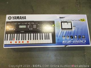 Yamaha Digital Keyboard with Headset see Pictures