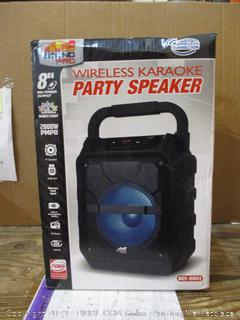 Wireless Karaoke Party Speaker