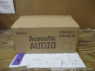 Acoustic Audio
