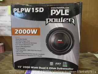 Pyle Power Subwoofer