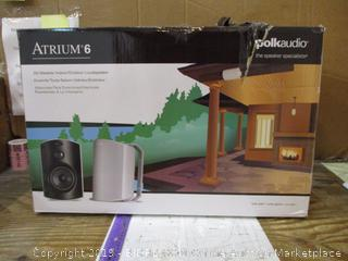 All Weather Indoor/Outdoor Loudspeaker