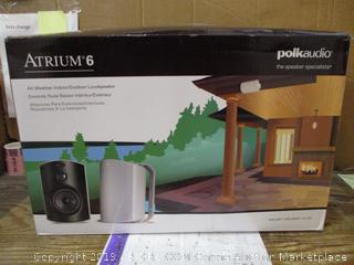 Atrium 6 All Weather Indoor/Outdoor Speaker