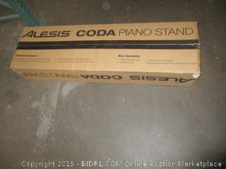Alesis Coda Piano Stand with Three Pedals (Retail: $149.00)
