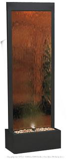 "Alpine Modern Bronze Mirror 72"" High Panel Fountain (online $599) Please Preview"