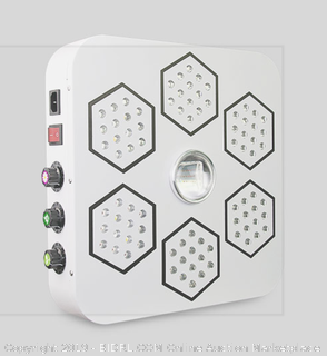 Bloombeast LED Grow Light Full Spectrum 13 Band with UV IR 3 Dimmers (Online $220)