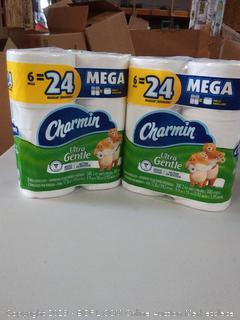 Mega Charmin Rolls - x 12