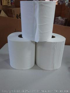 White Pull Centre Towels x 3