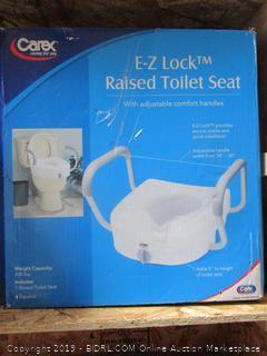 Carex EZ Lock Toilet Seat