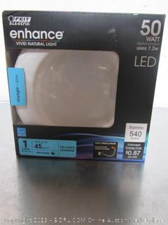 "Feit Electric Enhance 7.2W/50W LED 4"" Retrofit Light Kit"