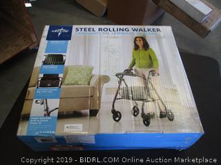 MEDLINE STEEL ROLLING WALKER