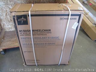 MEDLINE BASIC WHELCHAIR