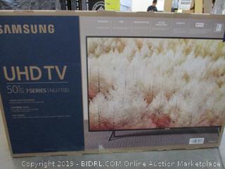 "Samsung UHDTV 50"""