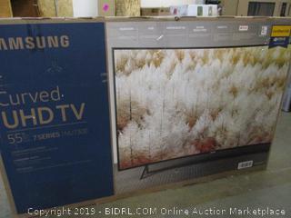 "Samsung Curved UHDTV 55"""