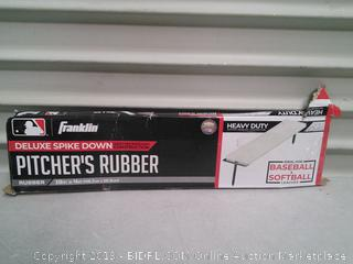 Pitcher's rubber