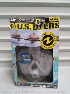 U.S. Divers Snorkel system