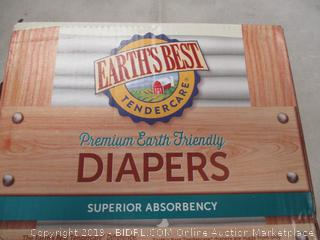 EARTH'S BEST DIAPERS SIZE 1