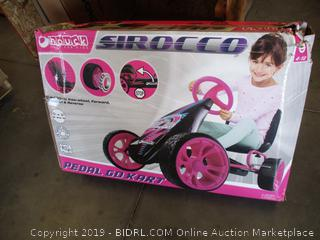 SIROCCO PEDAL GO KART (FACTORY SEALED, BOX DAMAGE)