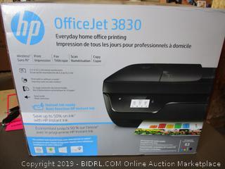 HP OFFICEJET 3830 PRINTER (POWERS ON)
