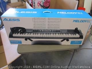 ALESIS MELODY61 PORTABLE KEYBOARD (FACTORY SEALED)