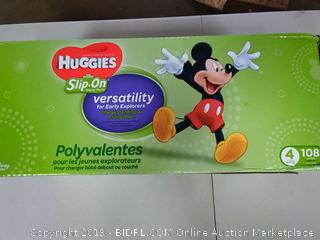 Huggies Disney Slip On Pull-Ups, Size 4, 108 Count