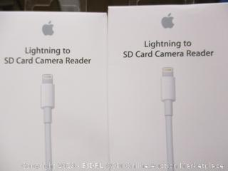Apple Lightning to SD Card Camera Reader